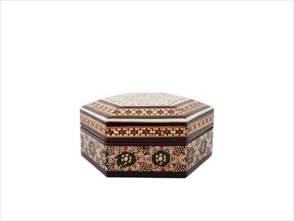 جعبه خاتم کاری شده اصفهان
