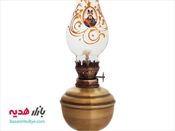 چراغ گردسوز برنجی طرح سنتی